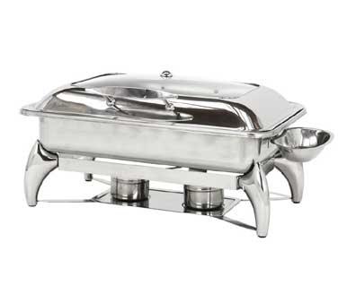 Buffet Enhancements Chafing Dish 8 qt. capacity rectangular 010YC3 by