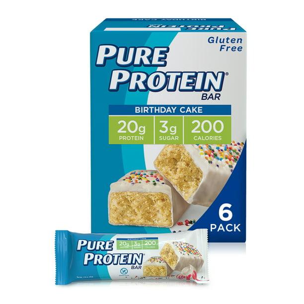 Pure Protein Bar Birthday Cake 20g