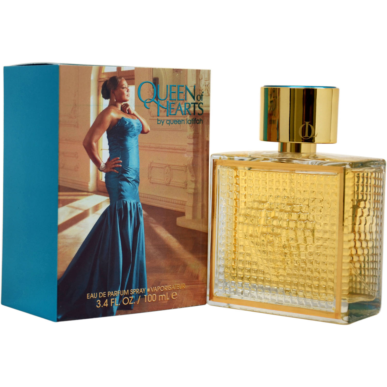 Queen Latifah Queen of Hearts Women's EDP Spray, 3.4 fl oz
