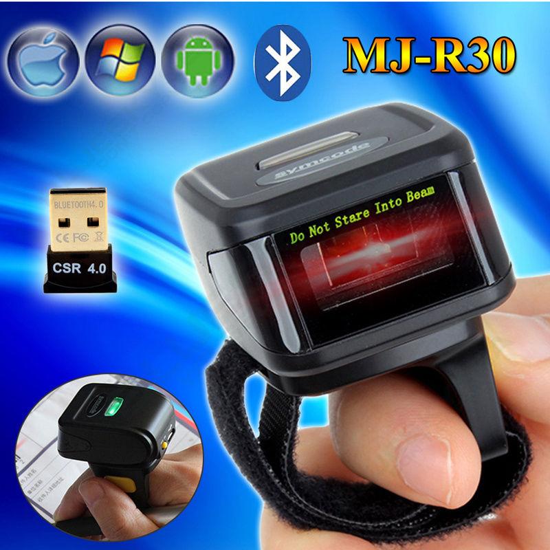 Portable Bluetooth Code-barres Scanner Laser Lecteur De Code Pour Windows