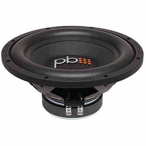 "PowerBass S1204D 12"" Subwoofer, Black"