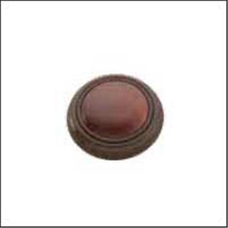 Hickory Hardware P715-BCH 1.12 In. Gladstone Black With Cherry Cabinet Knob