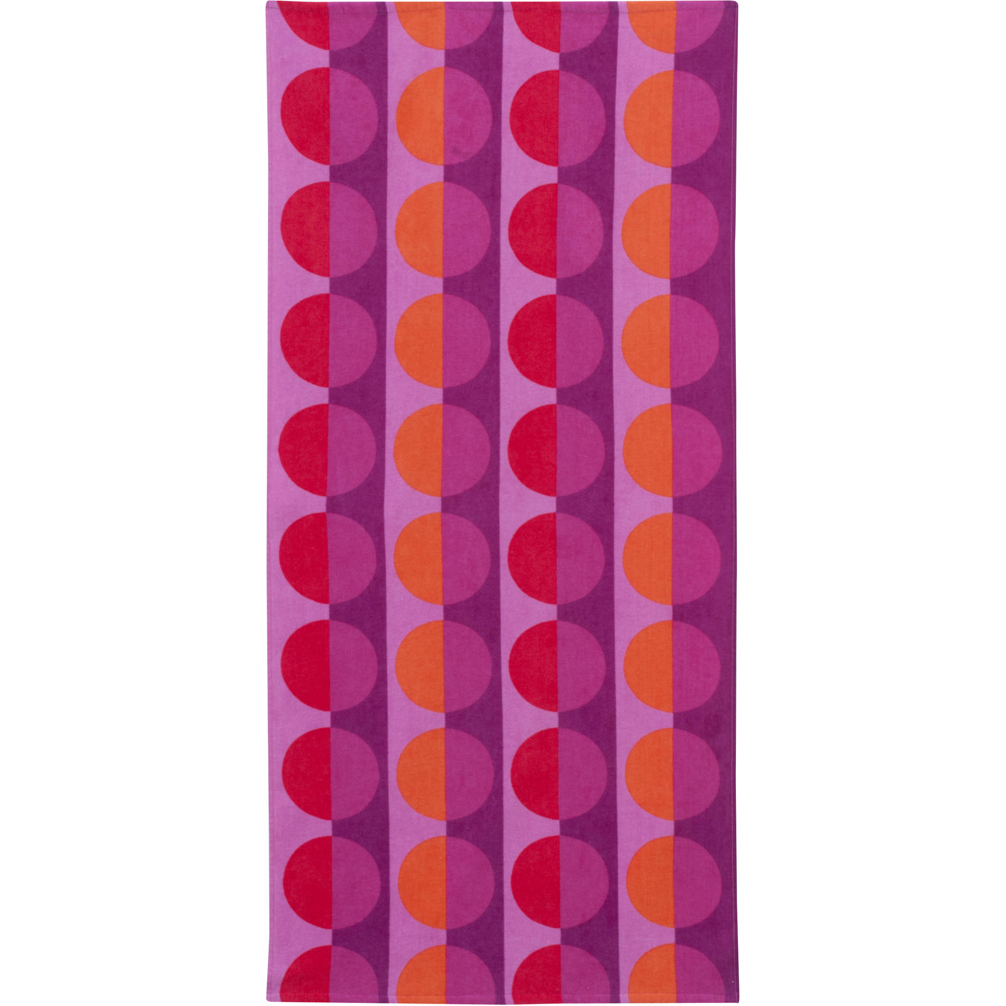 Mainstays Printed Beach Towel, Circles
