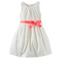 53653a5ccd Product Image OshKosh Little Girls  Fancy Free Lace Dress