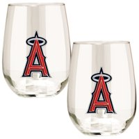 Los Angeles Angels Stemless Wine Glass Set