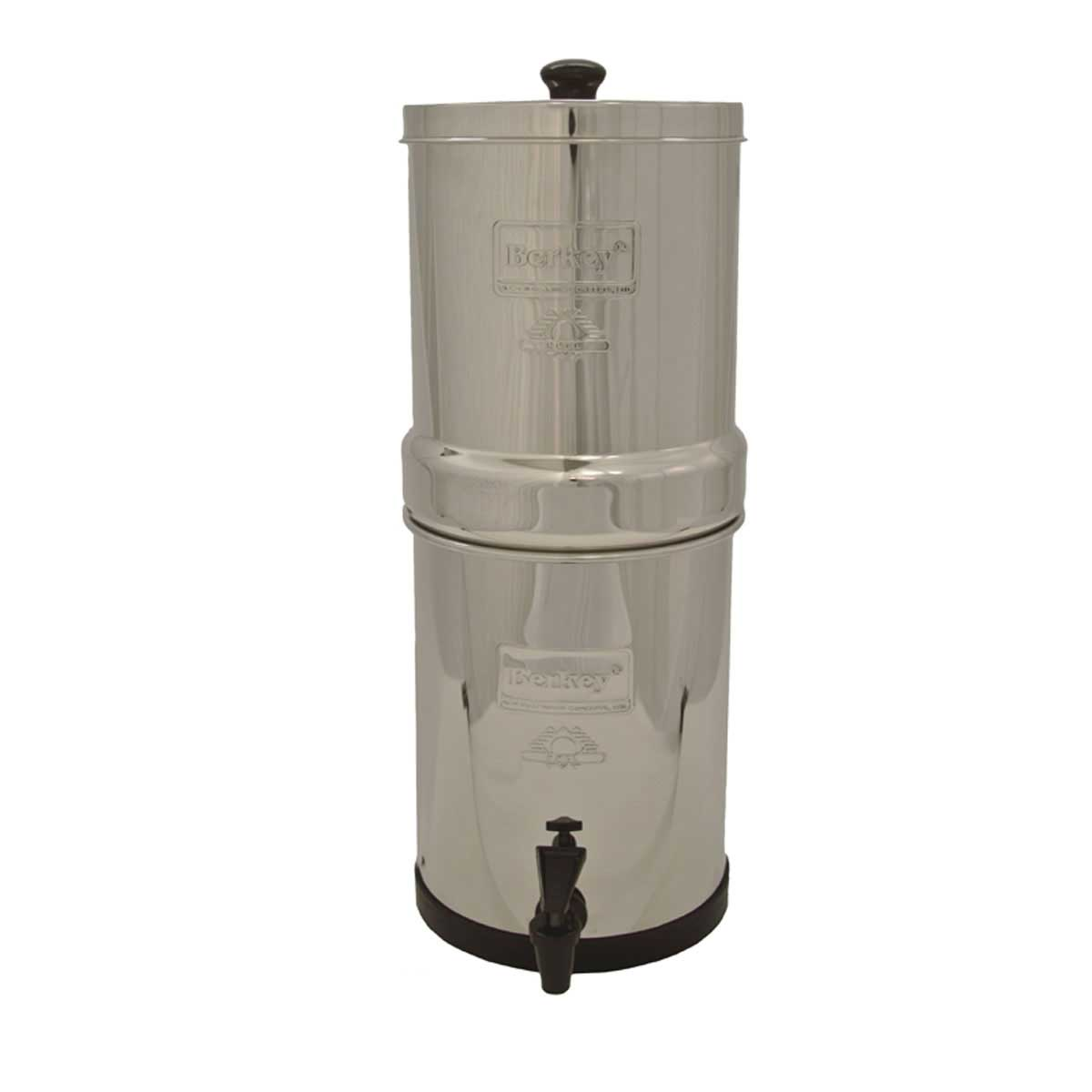 Big Berkey 2.25 Gallon Stainless Protect Water Purifier /w 2 Black Berkey Filters