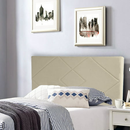 Headboard Fabric Upholstered Full/Queen Size Headboard With Modern Linen Tufted Heavy Duty With
