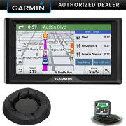 "Garmin nuvi 67LM 6"" 010-01399-01 Essential Series 2015 GPS Navigation System w Lifetime Maps Portable Friction Mount Bundle"