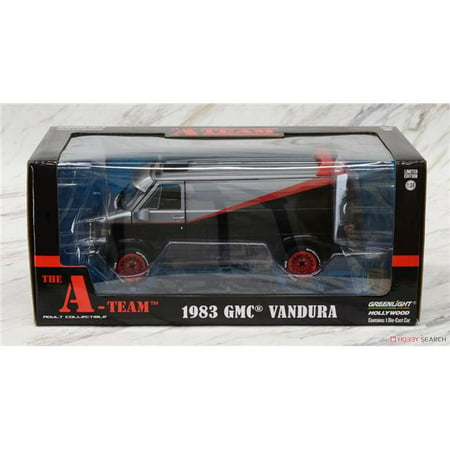 1983 GMC Vandura The A-Team (1983-1987) TV Series 1/24 Diecast Model Car by Greenlight 84072 3 Series Diecast Model