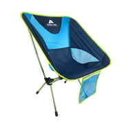 Ozark Trail Lightweight Aluminum Backpacking Camping Chair for Outdoor, Blue