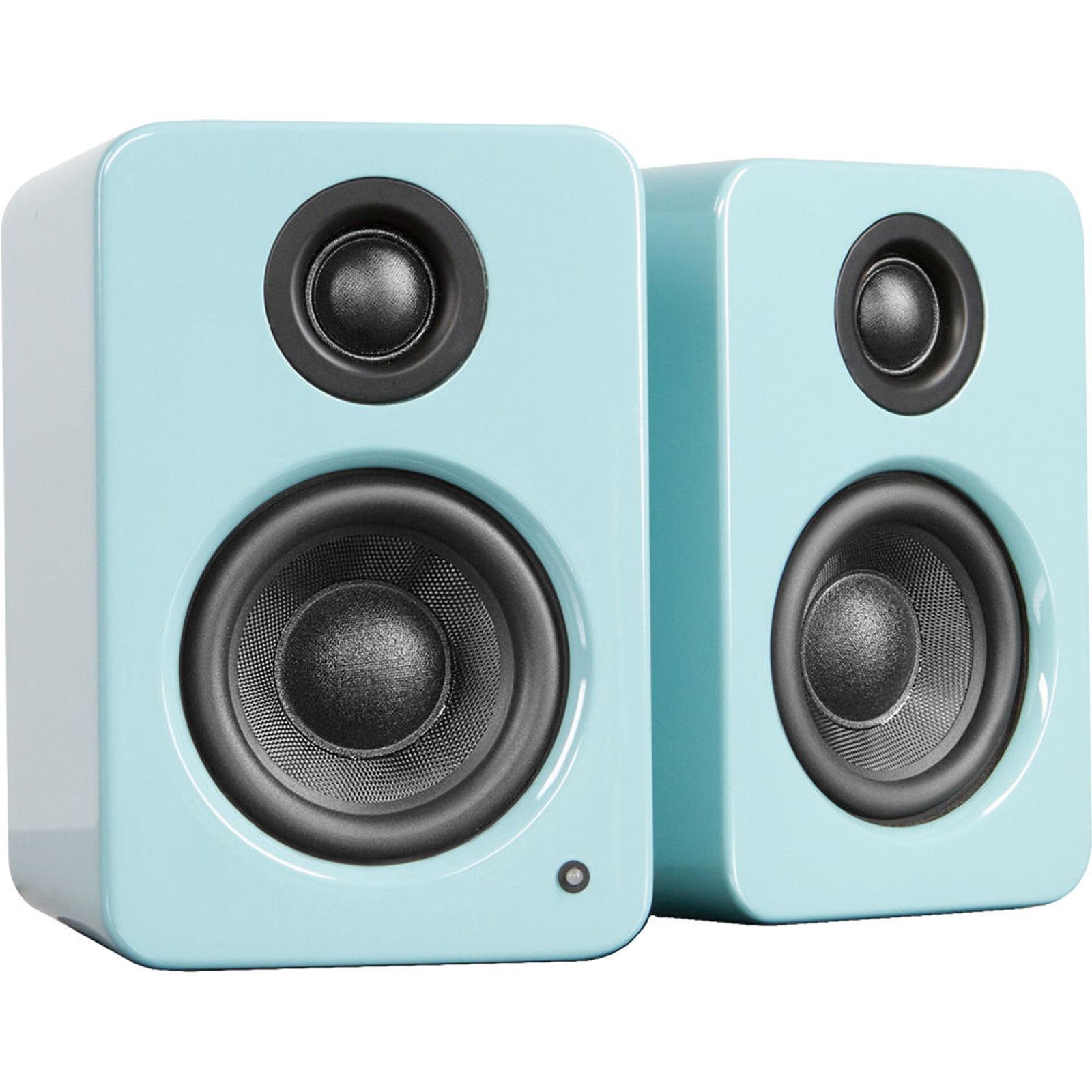 Kanto Living YU2 Powered Desktop Speakers - Gloss Teal