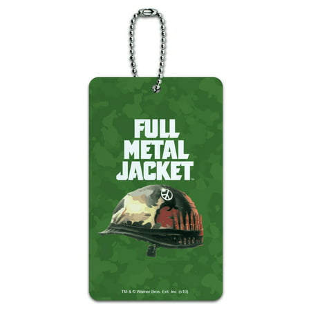 Full Metal Jacket Born to Kill Luggage Card Suitcase Carry-On ID