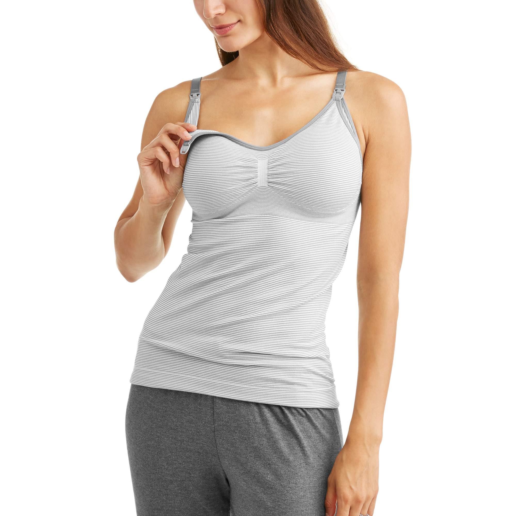 Labor Of Love Seamless Nursing Cami With Removable Pads-- Available In Plus Size