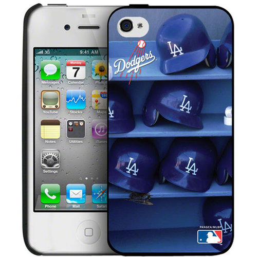 Iphone 4/4S Hard Cover Case - Los Angeles Dodgers Los Angeles Dodgers PANGBBLADIP4BP