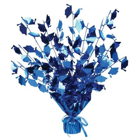 Graduation Cap Gleam 'N Burst Centerpiece (Blue) Party Accessory (1/pkg) Pkg/1](Tiffany Blue Boxes Centerpieces)