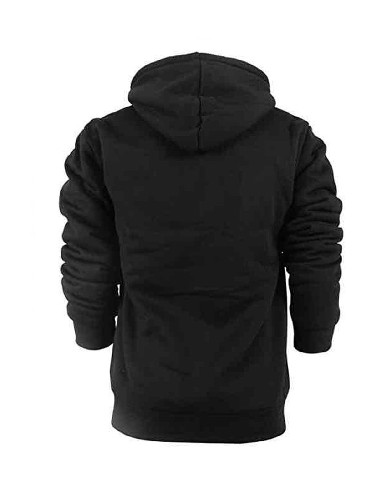 Casual Sherpa Lined Winter Kids Coat Activewear Size 8-16 LeeHanTon Boys Thick Zip Up Hoodie