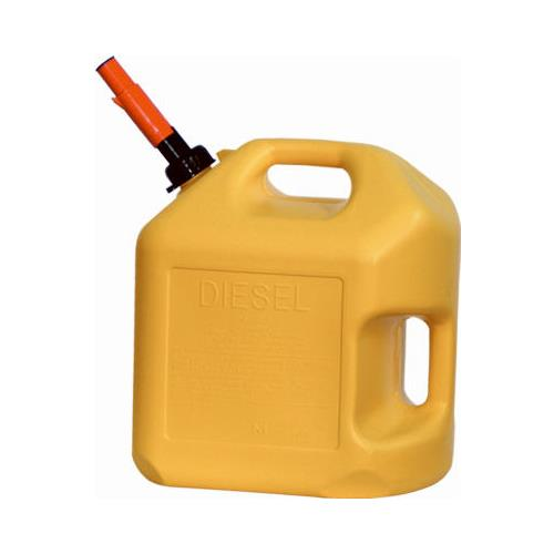 Midwest Can 8600 5-Gallon Yellow Diesel Container
