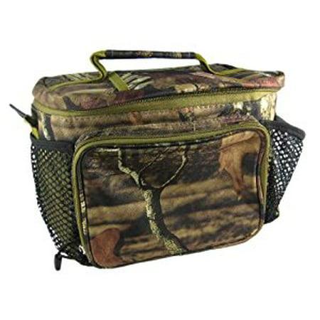 Explorer Tactical 12 Can Top Open Cooler Lunch Bag Mossy Oak