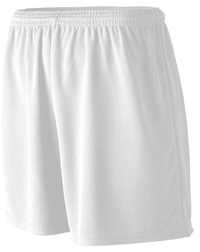 A4 Apparel NB5281 Youth Mesh Practice Short - White - Small