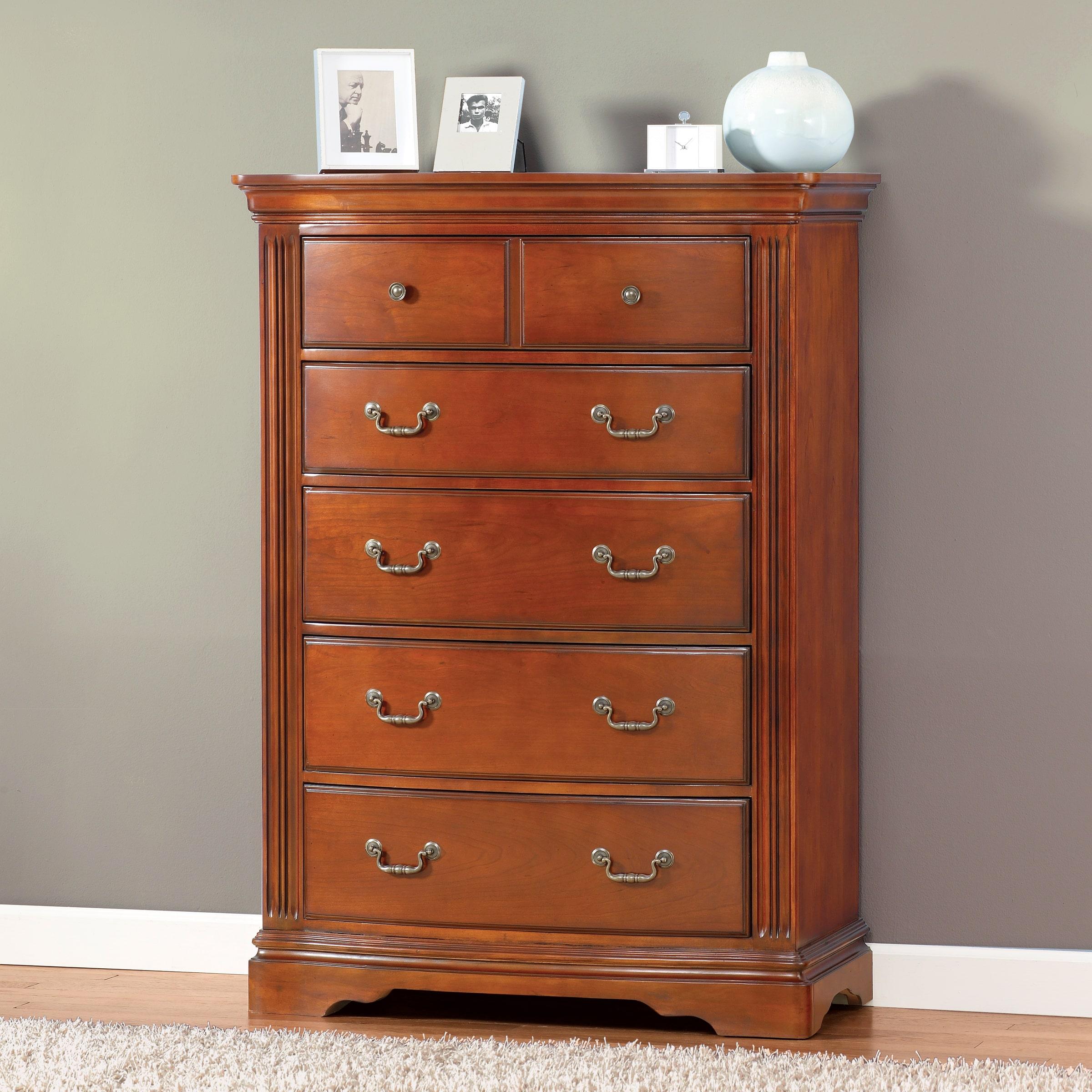 Accent Furniture Glenwood Serpentine Collection 5-piece B...