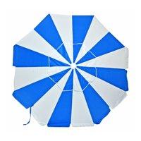 7.5 ft Commercial Grade Fiberglass Beach Umbrella and Patio Umbrella UPF100 with Accessory Hook
