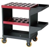 Grizzly Industrial T10048 Collet / Tooling Cart for NT40
