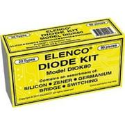 Elenco Diode 80 Piece Kit Multi-Colored