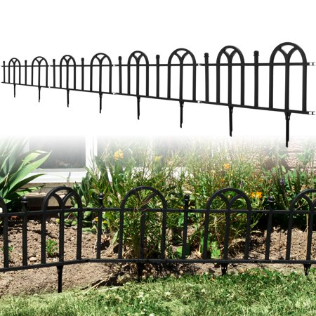 Image of Victorian Garden Border Fencing Set by Pure Garden