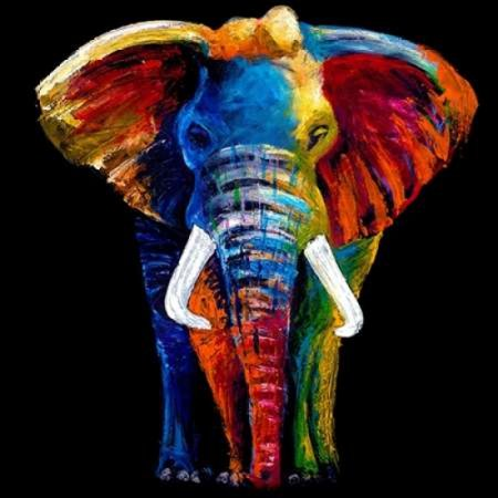 Great Elephant Poster Print by Clara Summer