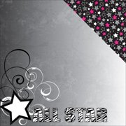 Cheerleading Double-Sided Cardstock 12 Inch X 12 Inch-All Star