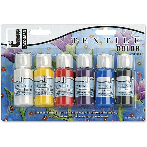 Jacquard Textile Color, 6pk