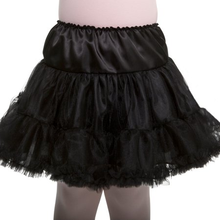 Girl Black Petticoat One Size Halloween Dress Up / Costume Accessory for $<!---->