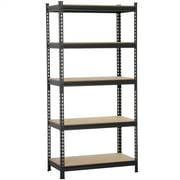 Yaheetech Heavy Duty Garage Shelf Steel Metal Storage 5 Level Adjustable Shelves Unit NEW