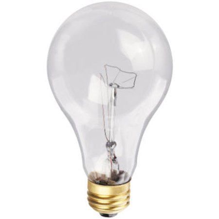 - Globe Electric 70862 200-Watt Clear Light Bulb