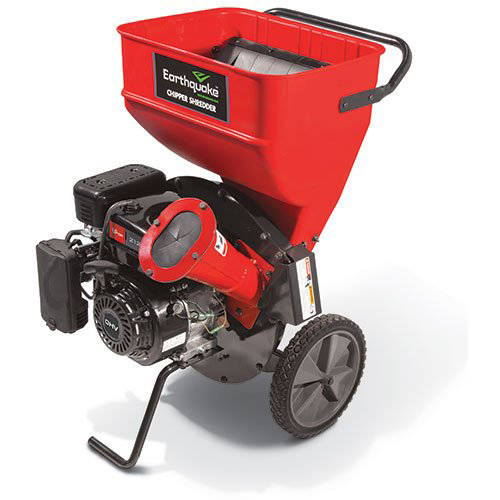 Earthquake 14267 Chipper Shredder 212cc 4-Cycle Viper Engine, Red
