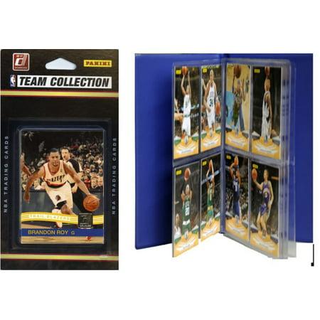 C & I Collectables 2010TRAILBTS NBA Portland Trail Blazers Licensed 2010-11 Donruss Team Set Plus Storage Album](Halloween Stores In Portland)