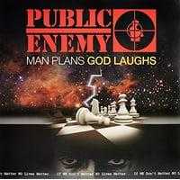 Public Enemy - Man Plans God Laughs - Vinyl