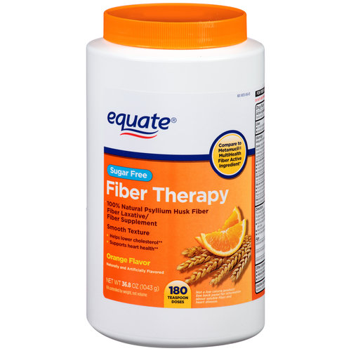 Equate Sugar Free Orange Flavor Fiber Laxative Fiber