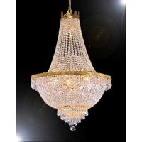French Empire Crystal Chandelier Lighting H30