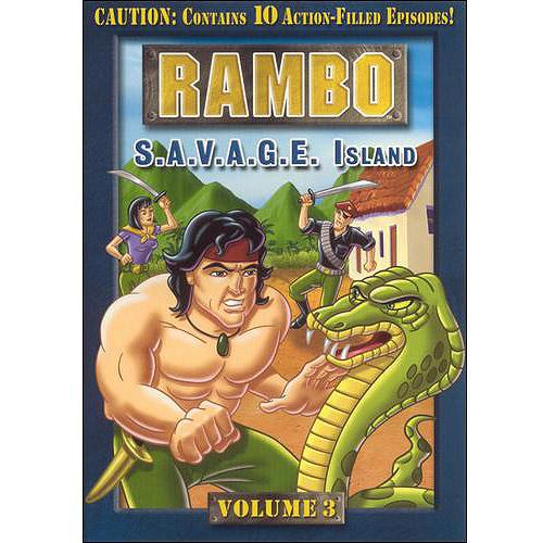 Rambo, Vol. 3: S.A.V.A.G.E. Island (Full Frame)