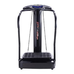 Pinty Upgraded Fitness Slim Full Body Crazy Fit Massage Vibration Machine Platform with Arm Straps
