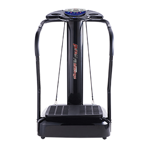 Pinty Upgraded Fitness Slim Full Body Crazy Fit Massage Vibration Machine Platform with Arm Straps