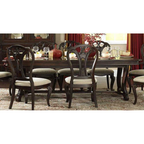 Hillsdale Grandover 95 in. Large Extension Rectangle Dining Table