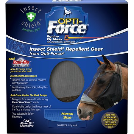 Foal Fly Mask - Manna Pro Opti Force Fly Mask, Standard