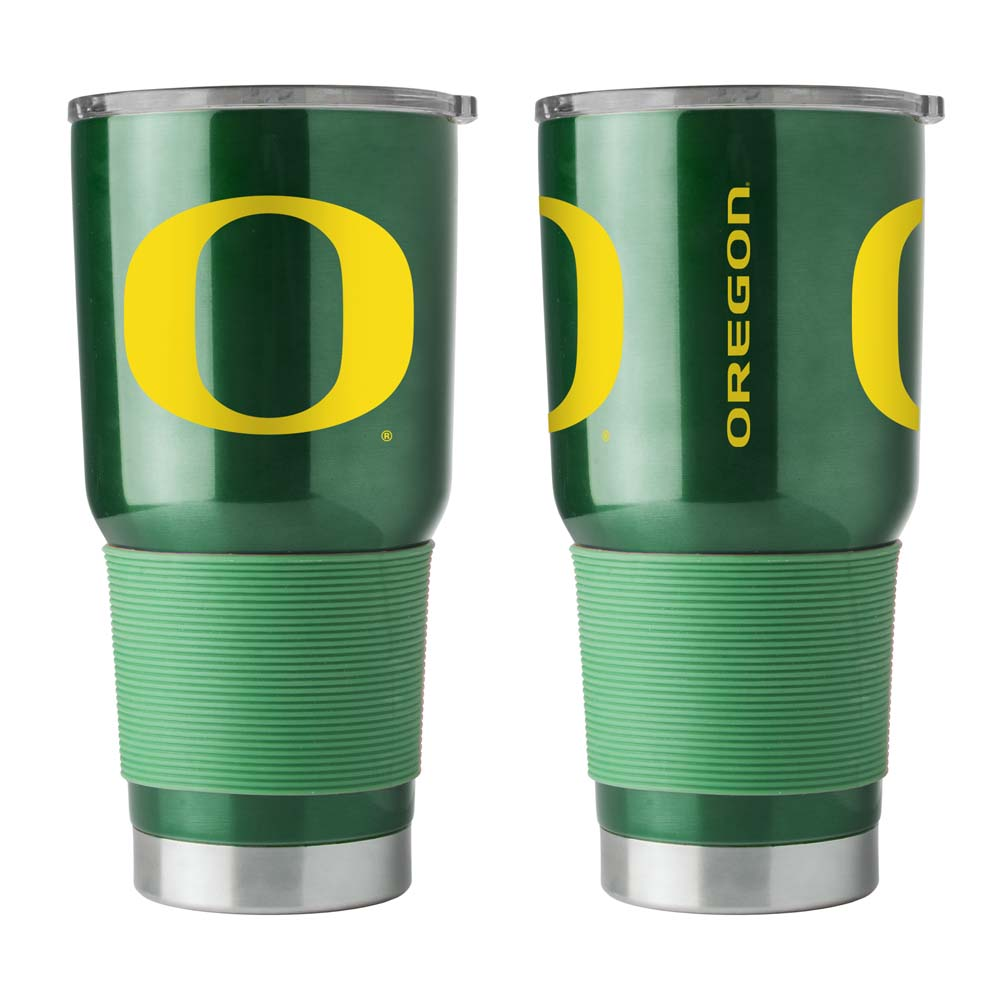 Oregon Ducks Travel Tumbler 30 oz Ultra Flared Green