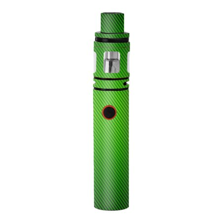 Skins Decals For Smok Stick V8 Pen Vape / Lime Green Carbon Fiber Graphite