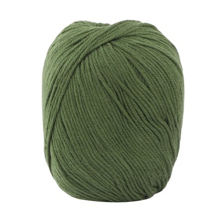 Diy Scary Indoor Halloween Decorations (Indoor Women Scarf DIY Handicraft Crochet Knitting Weaving Yarn Army Green)