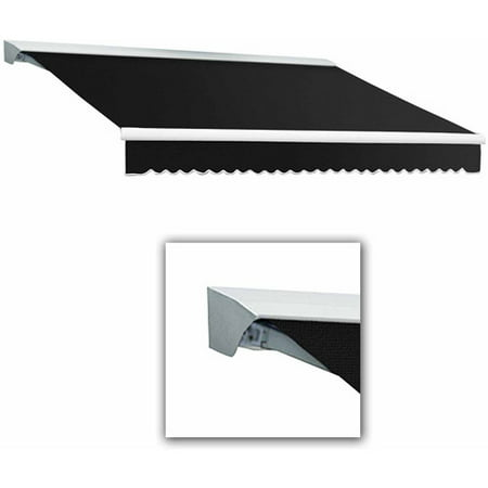 Awntech Destin-LX with Hood Manual Retractable Awning Awntech Retractable Awnings