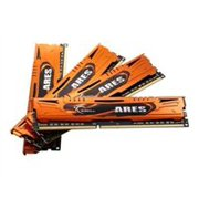 G.Skill ARES - DDR3 - 16 GB : 4 x 4 GB - DIMM 240-pin - 1600 MHz / PC3-12800 - CL9 - 1.5 V - unbuffered - non-ECC