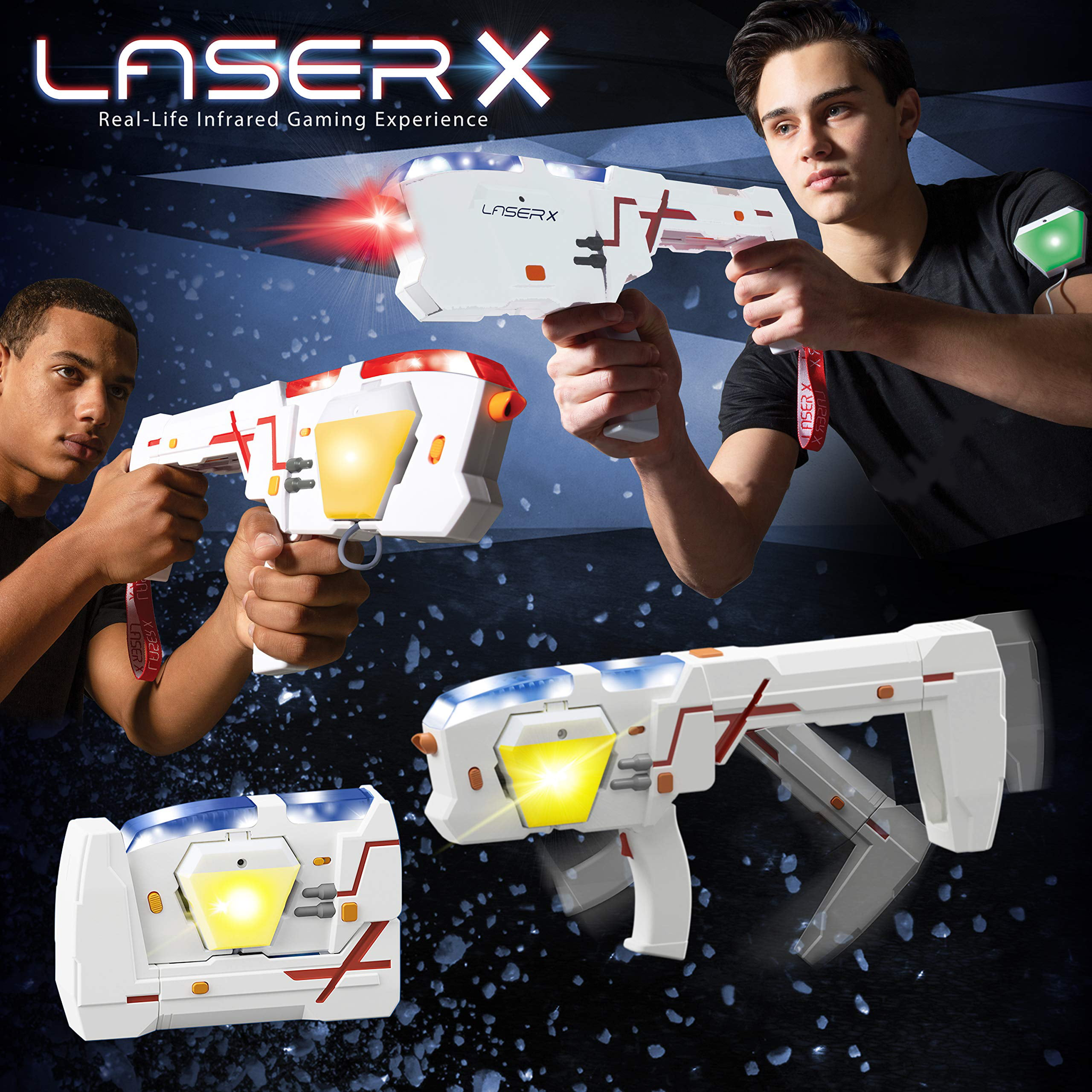 Laser X Morph Double Blasters Walmart com Walmart com